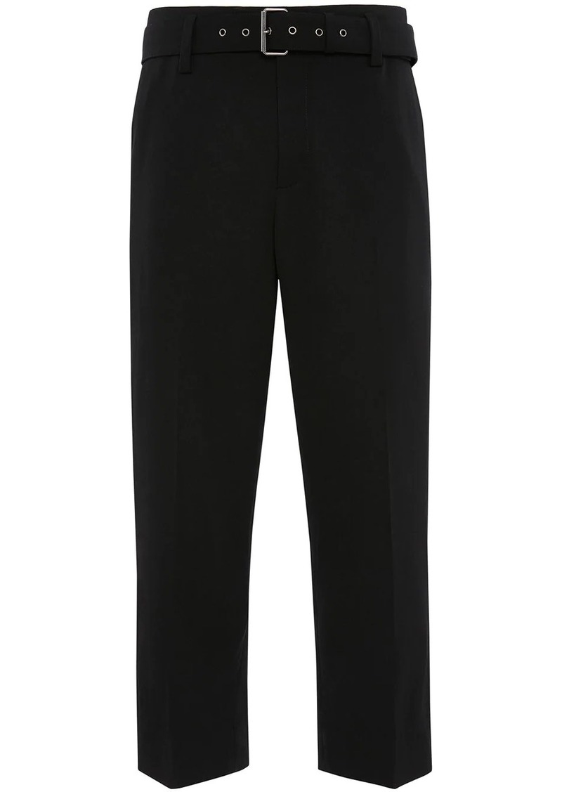 JW Anderson BELTED TAILORED TROUSERS
