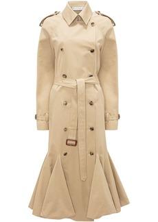 JW Anderson bubble-hem trench coat