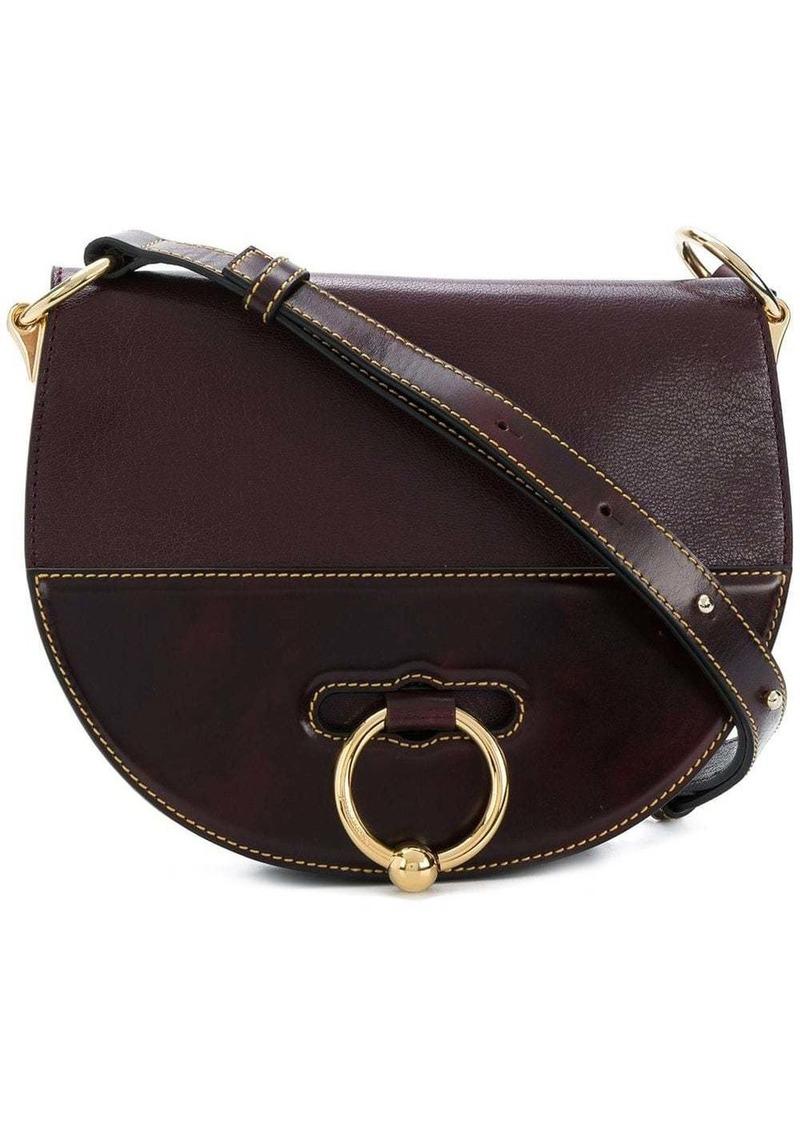 JW Anderson Burgundy Latch Bag