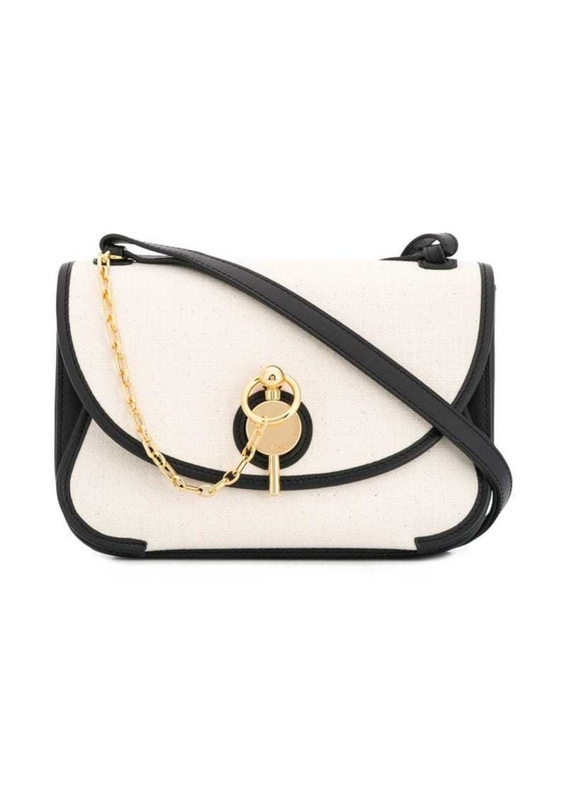 chain link detail cross body bag
