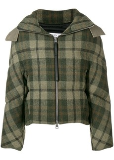 JW Anderson checkered padded jacket