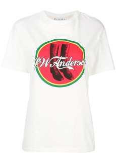 JW Anderson Cola boots T-shirt