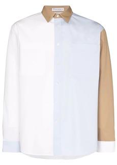 JW Anderson colour-block panel shirt