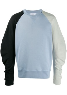 JW Anderson colour block sweatshirt