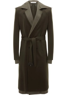 JW Anderson double-layer belted coat