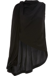 JW Anderson draped one-shoulder blouse