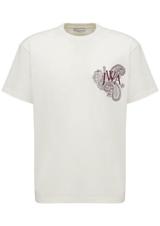 JW Anderson Embroidered Logo Cotton T-shirt