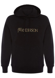 JW Anderson embroidered logo hoodie