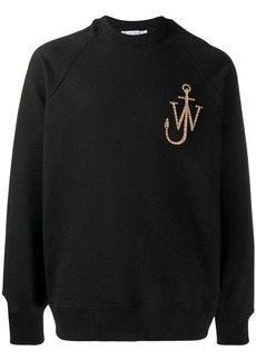 JW Anderson embroidered logo sweatshirt
