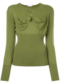JW Anderson fitted knitted top