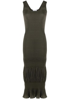 JW Anderson ruched sleeveless tank dress