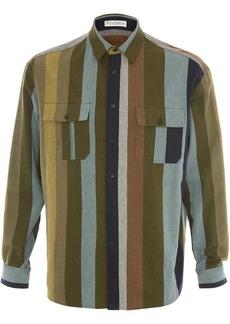 JW Anderson flannel striped shirt