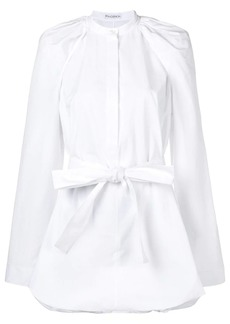 JW Anderson flared belted shirt