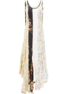 JW Anderson floral patchwork dress