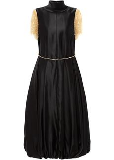JW Anderson frilled-sleeves balloon dress