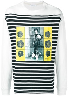 JW Anderson Gilbert & George transfer print long sleeve T-shirt