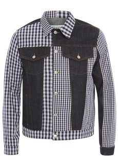 JW Anderson gingham patchwork denim jacket