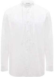 JW Anderson Grandad neck tie shirt