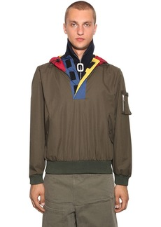 JW Anderson Half Zip Funnel Neck Cotton Jacket