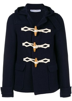 JW Anderson hooded short duffle coat