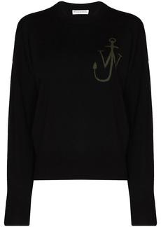 JW Anderson jacquard Anchor logo jumper
