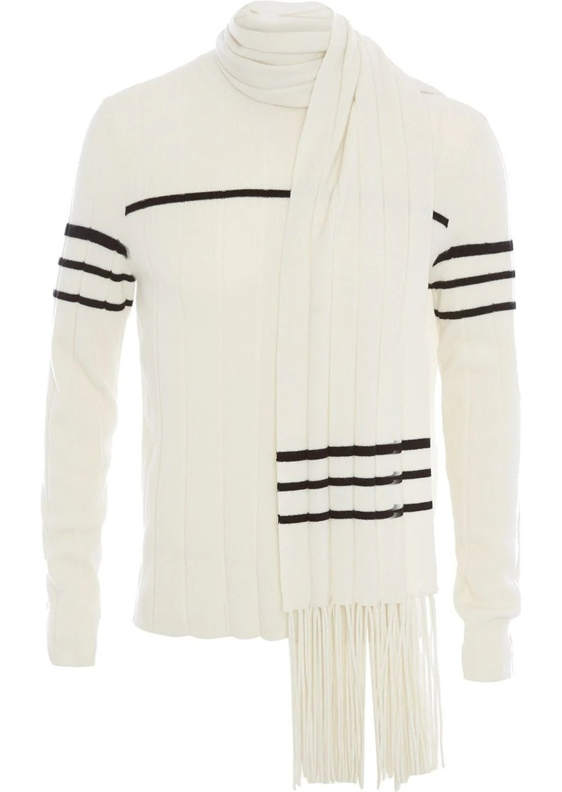JW Anderson scarf detail sweater