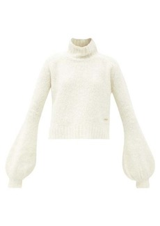 JW Anderson Balloon-sleeve alpaca-blend sweater