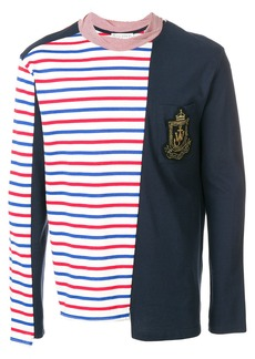 JW Anderson Panelled Breton Long Sleeve T-shirt