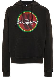JW Anderson Cola Boots print hoodie