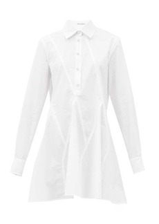 JW Anderson Godet hem cotton long-sleeved shirt