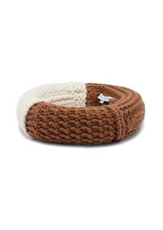 JW Anderson Knitted wool-blend headpiece