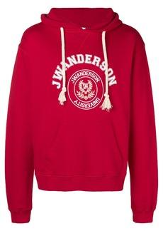 JW Anderson logo print hoodie