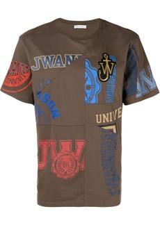 JW Anderson patchwork logo T-shirt
