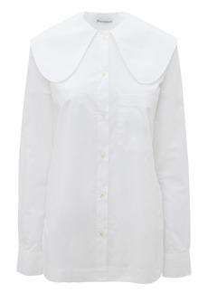 JW Anderson Pilgrim Collar Cotton Button-Up Shirt