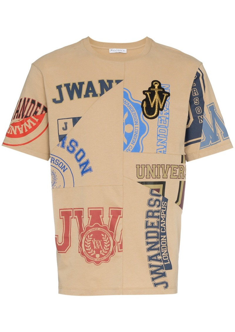 JW Anderson Cut Out Printed T-shirt