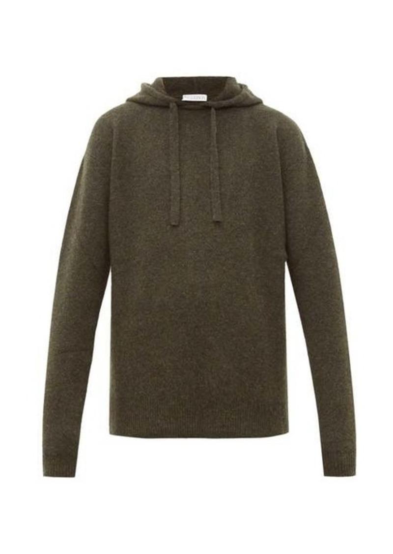 JW Anderson Wool-blend hooded sweater