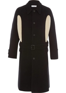 JW Anderson knit insert belted coat