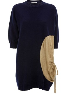 JW Anderson KNITTED TOP WITH METALLIC DETAIL