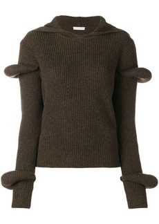 JW Anderson knitted voluminous top