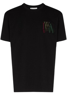 JW Anderson logo-embroidered cotton T-shirt