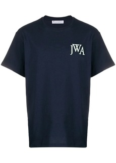 JW Anderson logo embroidered T-shirt