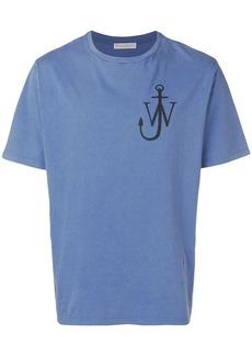 JW Anderson logo-print crewneck T-shirt