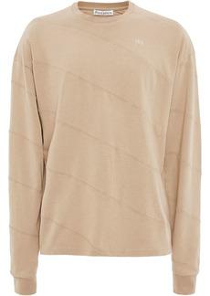 JW Anderson long sleeve diagonal panelled T-shirt