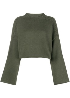 JW Anderson loose cropped knit sweater