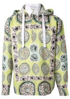 JW Anderson Mystic Paisley hooded shirt