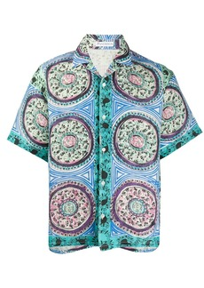 JW Anderson Mystic Paisley printed shirt
