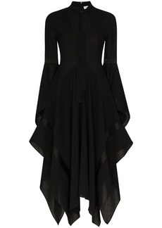 JW Anderson neck tie flared dress
