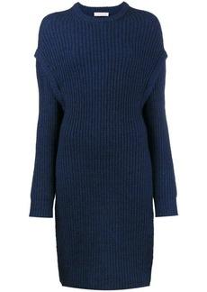 JW Anderson Oversized slit side knitted jumper