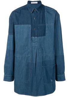 JW Anderson panelled denim shirt