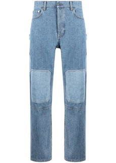 JW Anderson patchwork-effect jeans